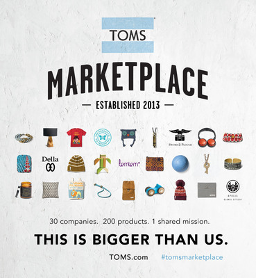 The TOMS Marketplace Launches At TOMS.com