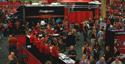 Snap-on Franchisee Conference hosts record number of attendees, highlights innovation.  (PRNewsFoto/Snap-on Tools)