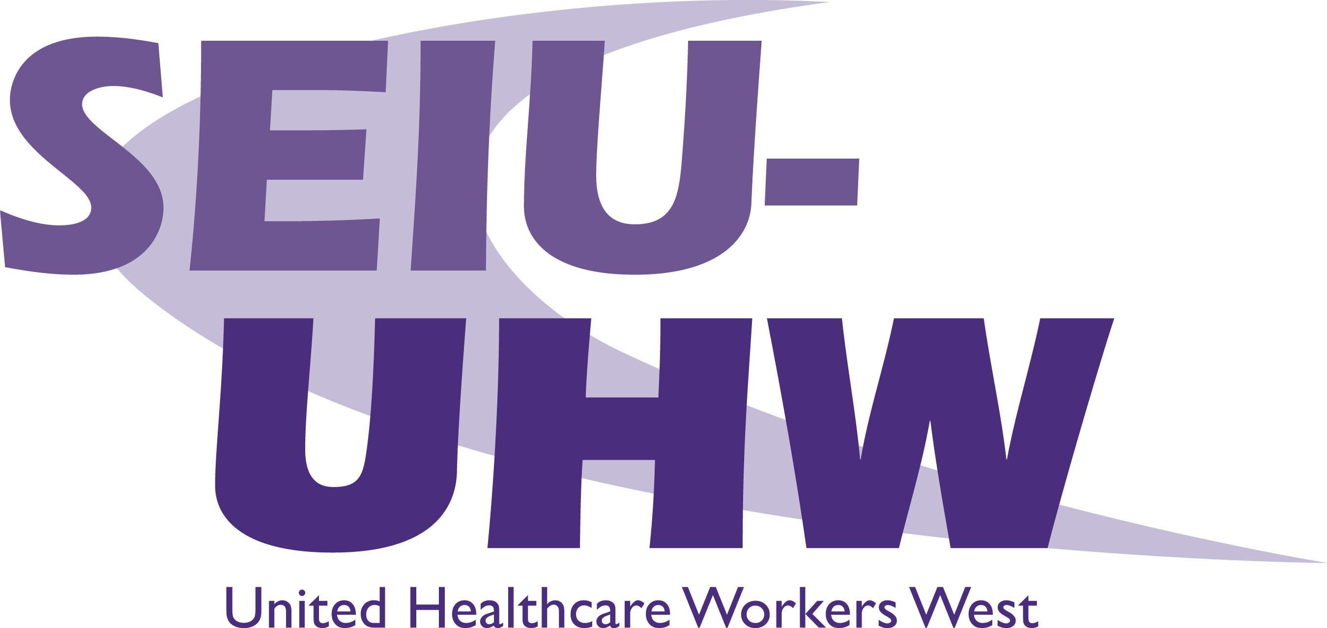 SEIU-United Healthcare Workers West logo. (PRNewsFoto/SEIU United Healthcare Workers)