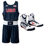 Everlast Unveils 2012 USA Olympic Boxing Competition Outfit and Footwear