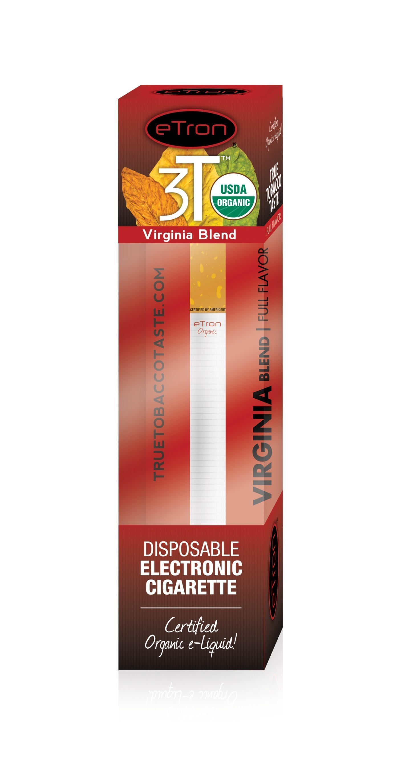 Certified Organic eTron 3T Disposable
