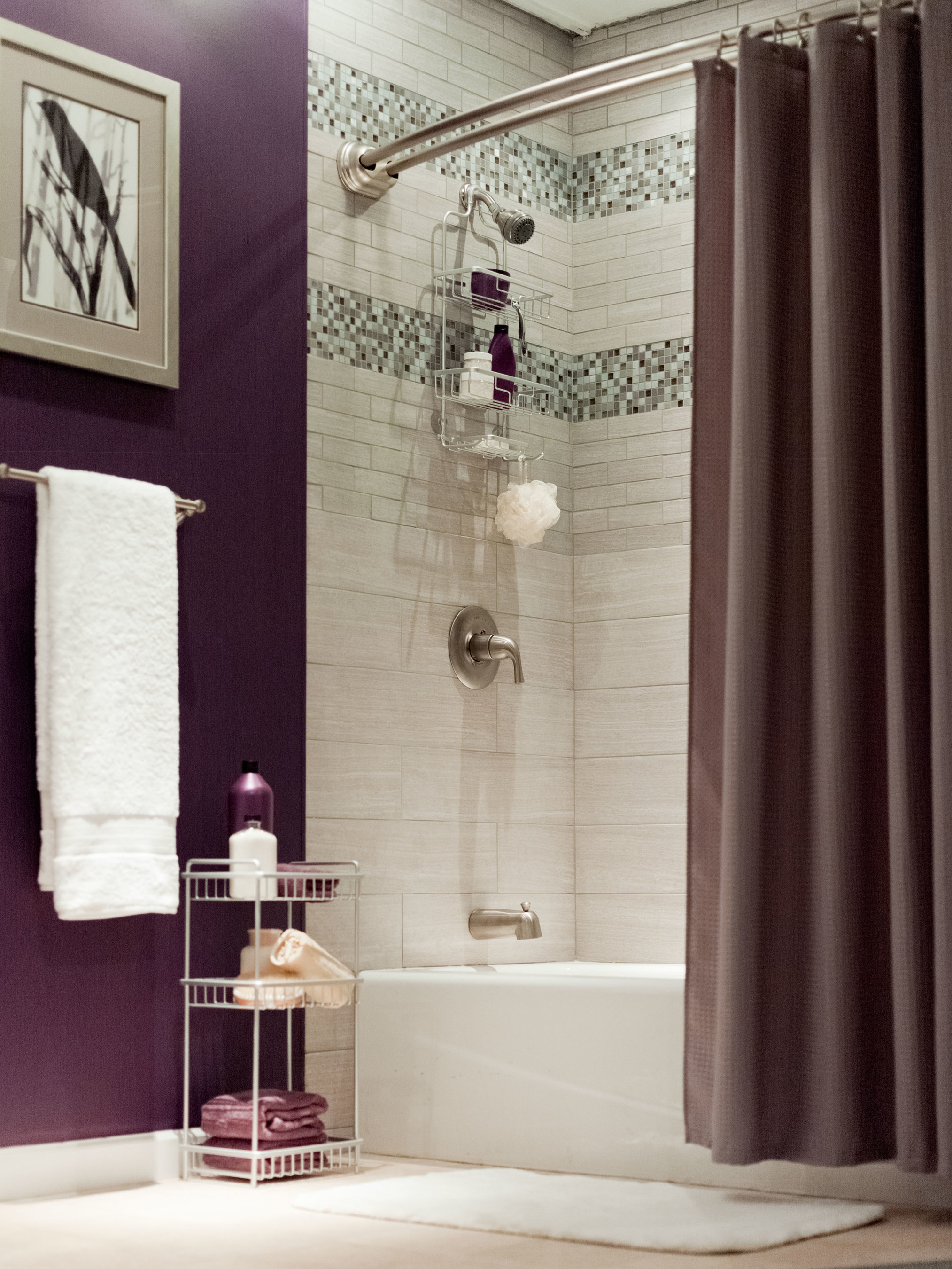NeverRust(TM) Shower Rods and Caddies are made of lightweight yet strong, durable aluminum. The products have launched at home centers, department stores and specialty retailers and online. (PRNewsFoto/Zenith Products Corp. (ZPC))