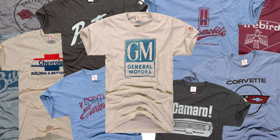 Grand Rapids, Mich.-based lifestyle company, The Mitten State (TMS), has partnered with General Motors to develop an exclusive new line of t-shirts inspired by the company's iconic and vintage performance cars. The new premium t-shirts offer a modern shape, fit, and feature a vintage look that is revved up to celebrate the passion of auto-lovers in authentic and fashionable designs. Available at themittenstate.com and select specialty retailers.