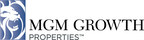 MGM Growth Properties LLC Announces Pricing Of Public Offering Of Class A Shares
