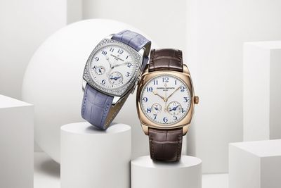 Harmony dual time small model and Harmony dual time (PRNewsFoto/Vacheron Constantin)