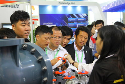 Products showcased at Vietwater