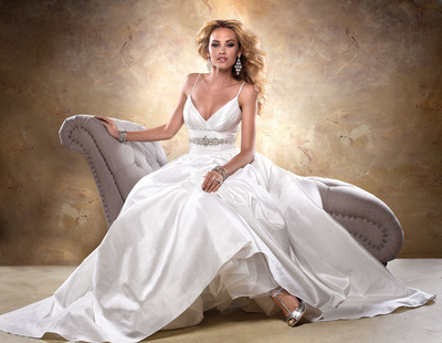 Maggie Sottero: Impeccable Styling, Incomparable Fit. See our new collection at www.maggiesottero.com!.  (PRNewsFoto/Maggie Sottero)