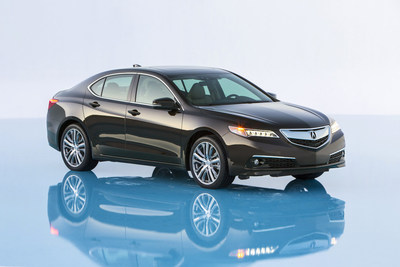 Acura Celebrates Coming Launch of 2015 TLX Performance Luxury Sedan with Special TLX Acura Advantage Program (PRNewsFoto/Acura)