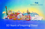 A rendering of Princess Cruises' first-ever Rose Parade float. (PRNewsFoto/Princess Cruises)
