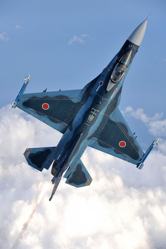 Lockheed Martin Supports Japanese F-2 Restoration Program