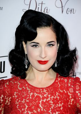 AVAKIAN Jewellery Marquise Ruby Earrings Dita Von Teese