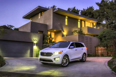 2016 Kia Sorento is featured vehicle at Mom 2.0 Summit