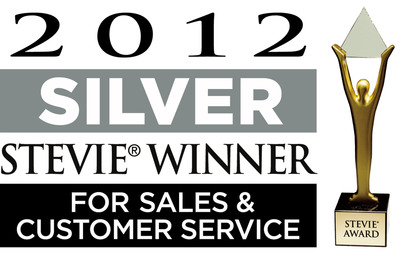 The Stevie Awards are the world's top sales, contact center, and customer service awards.  (PRNewsFoto/VIZIO, Inc.)