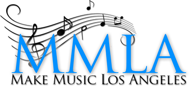 Make Music Los Angeles logo.  (PRNewsFoto/Make Music Los Angeles)