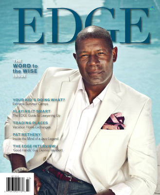 "EDGE Magazine Begins 2014 in Good Hands. Hollywood Star Dennis Haysbert Talks the Talk, Walks the Walk. The Haysbert Q&A is part of EDGE's February/March ""Word to the Wise"" issue, EDGE Magazine is published by Trinitas Regional Medical Center. More than 75,000 copies are sold and mailed, regularly reaching over 300,000 readers in central New Jersey. The magazine has an additional 150,000 online readers, who spend an average of 30-plus minutes on EdgeMagOnline.com—as well as thousands more following EDGE through Twitter @EDGEMagNJ and Facebook  EDGE Magazine (NJ). For Photos and more information contact Doug Harris at (908) 994–5138."