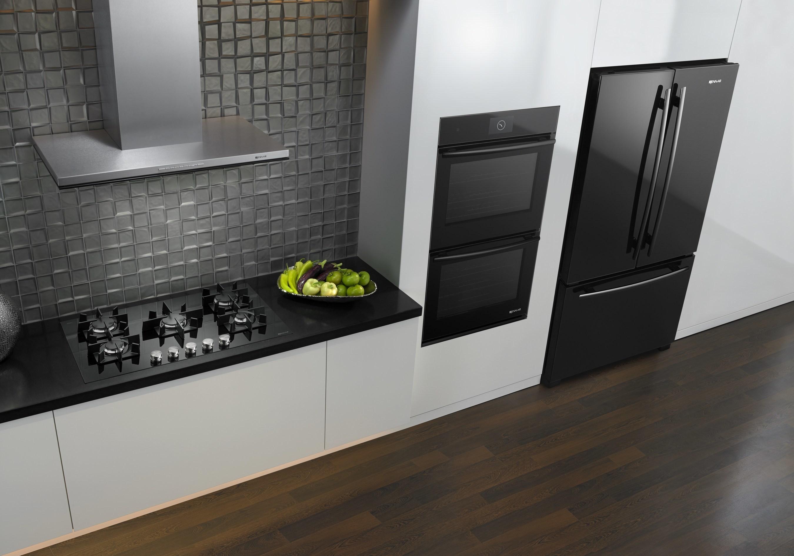 Jenn Air Microwave >> Jenn-Air® Black Floating Glass Appliances Offer Sleek ...