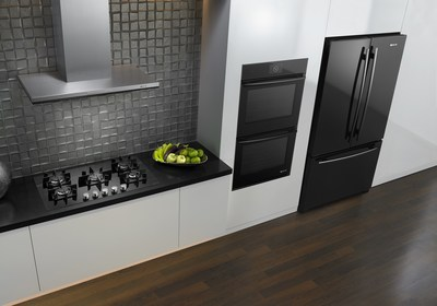Jenn-Air(R) Black Floating Glass Appliances