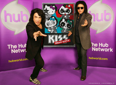 """KISS Hello Kitty"" comes to The Hub Network.  (PRNewsFoto/The Hub Network)"