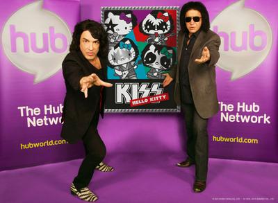 """""""KISS Hello Kitty"""" comes to The Hub Network.  (PRNewsFoto/The Hub Network)"""