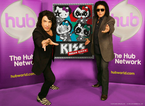 """KISS Hello Kitty"" comes to The Hub Network. (PRNewsFoto/The Hub Network) (PRNewsFoto/THE HUB NETWORK)"