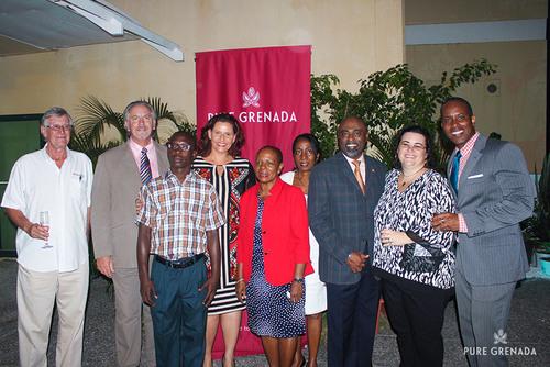 Hon. Alexandra Otway-Noel, Minister of Tourism, Civil Aviation & Culture; Senator Brenda Hood, Parliamentary ...
