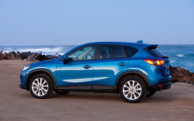 The 2014 Mazda CX-5 provides the highest highway fuel economy rating of any SUV currently available.  (PRNewsFoto/Ocean Mazda)