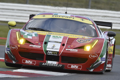 Ferrari's GTE Pro class car, powered by ANSYS. Ferrari raced past the competition to secure the 2014 FIA World Endurance Championship drivers', teams' and manufacturers' titles.