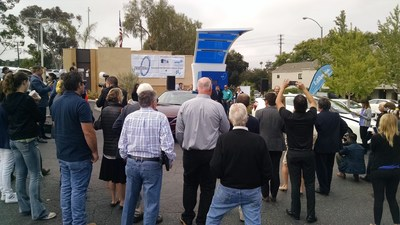 Grand opening of True Zero station in Santa Barbara - first hydrogen fuel station in California's Central Coast