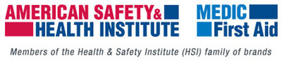American Safety & Health Institute and MEDIC First Aid are a member of the HSI family of brands.  (PRNewsFoto/Health & Safety Institute)
