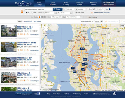Windermere Real Estate and INRIX Team Up to Release Industry First: Search for Homes by Drive Time