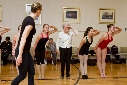 Pauline Clark, an 87-year-old from Clearwater, Fla., was recently granted her lifelong wish to dance with the ...