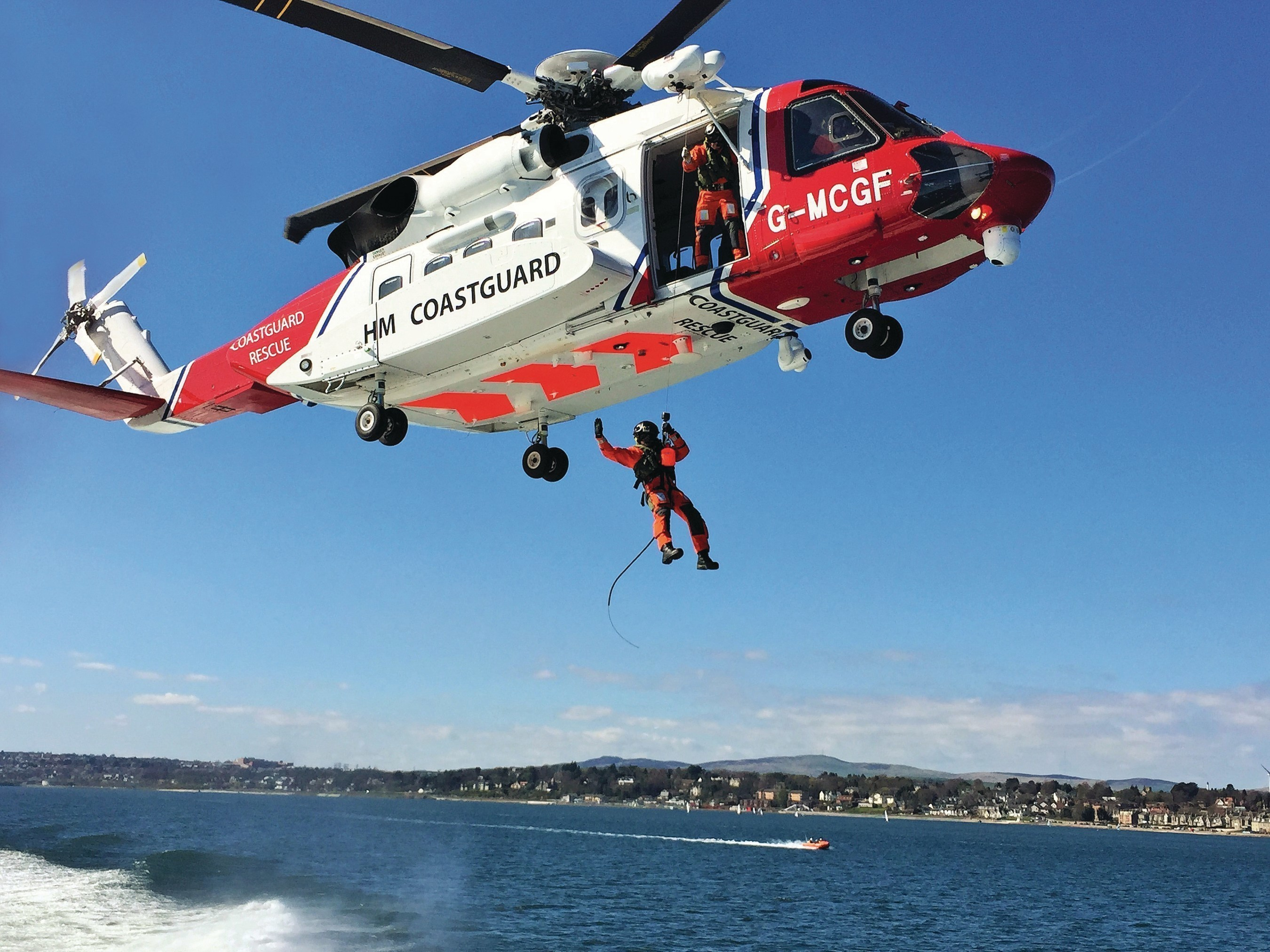 In the first year of UK search and rescue (SAR) operations, which commenced April 1, 2015, Bristow successfully completed more than 1,100 SAR missions with Sikorsky S-92(R) helicopters. [Photo courtesy: UK Maritime and Coastguard Agency]