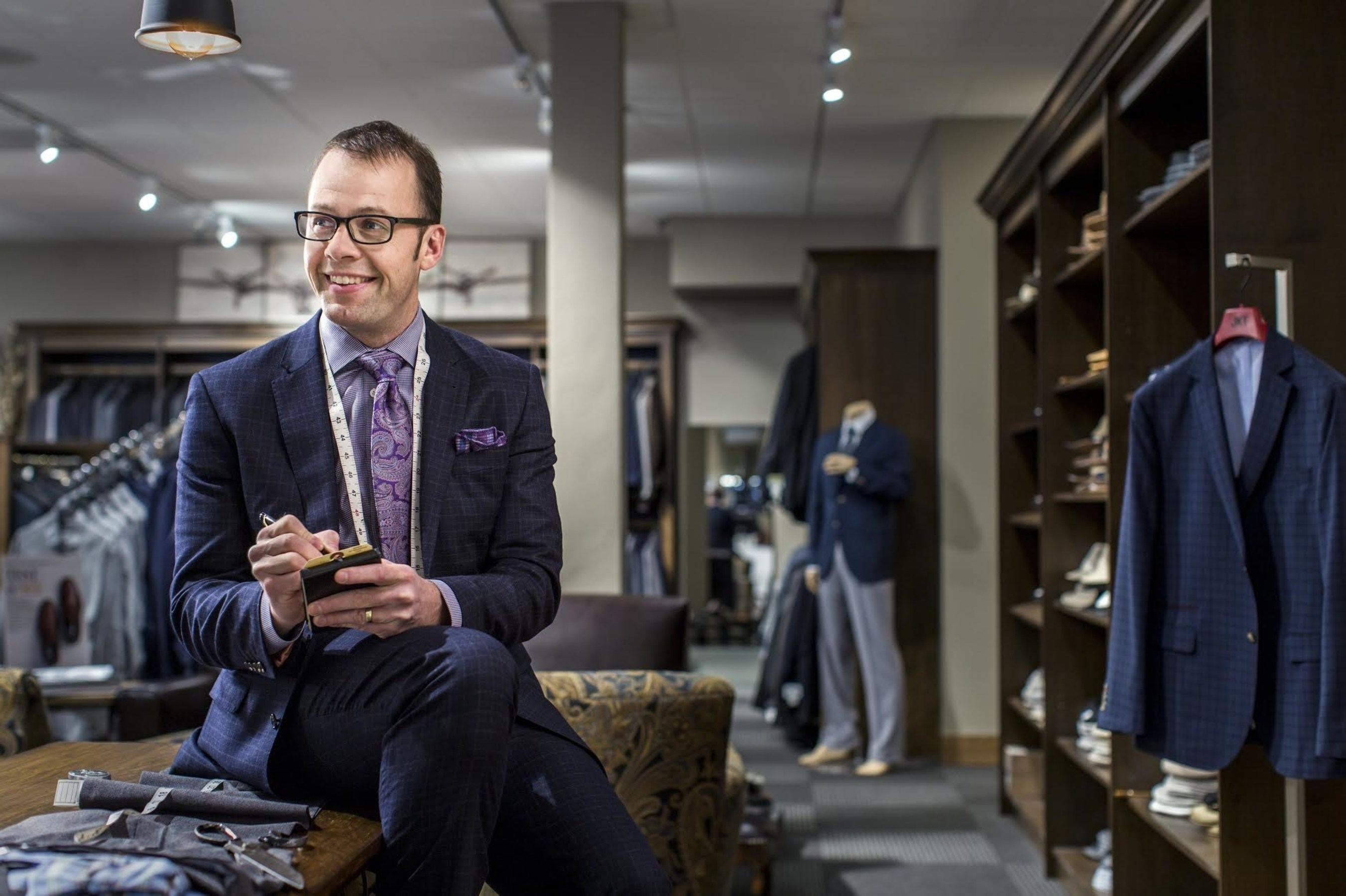 Pictured is Ben Graham, President of Graham's Style Store.