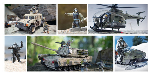 Call of Duty Collector Construction sets by Mega Bloks.  (PRNewsFoto/Mega Brands Inc.)
