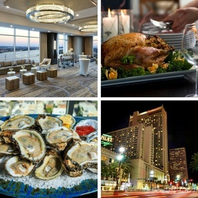 New Orleans Marriott is bringing back its popular Riverfront Thanksgiving Buffet, and visitors and New Orleans natives alike can celebrate the holiday from the hotel's renovated 41st floor event space. For information and the feast menu, visit www.marriott.com/MSYLA or call 1-504-581-1000.