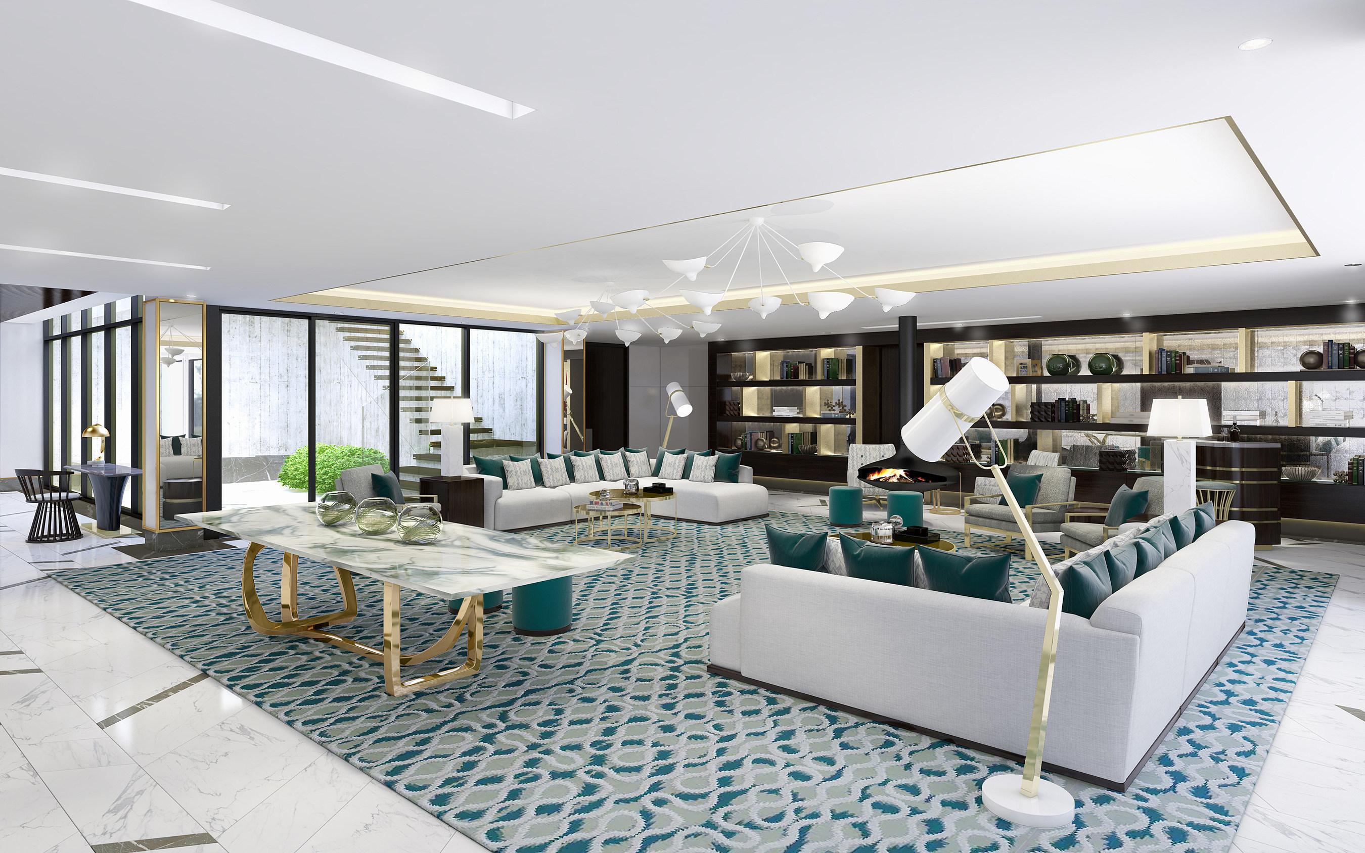 The London West Hollywood lanza un nuevo ático de 11.000 pies cuadrados Penthouse Inspired By
