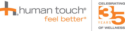 Human Touch Celebrates 35 Years Helping People Feel Better(TM). (PRNewsFoto/Human Touch)