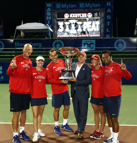 The Washington Kastles will keep the King Trophy in the nation's capital for another year after winning ...