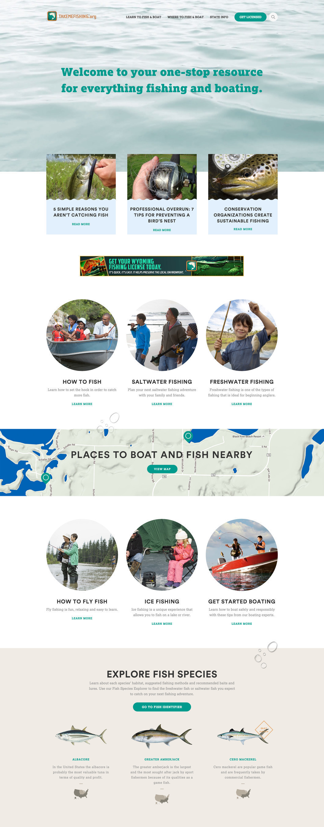 Welcome to your one-stop resource for everything fishing and boating.