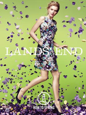Lands' End How To Spring. (PRNewsFoto/Lands' End) (PRNewsFoto/LANDS' END)
