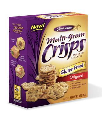 Crunchmaster Original Flavor Multi-Grain Crisps are now available in Wal-Mart Supercenter stores nationwide.  (PRNewsFoto/Crunchmaster)