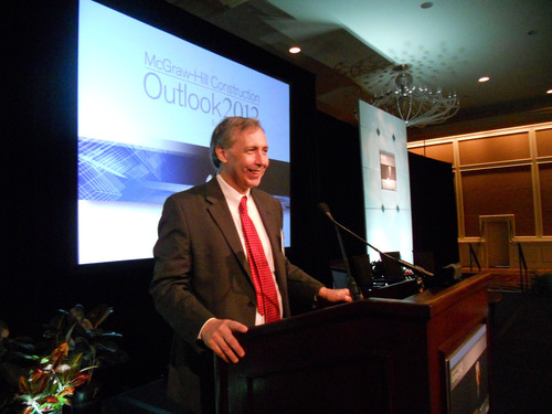Construction Industry to Remain Flat in 2012, Says McGraw-Hill Construction Dodge Outlook Report