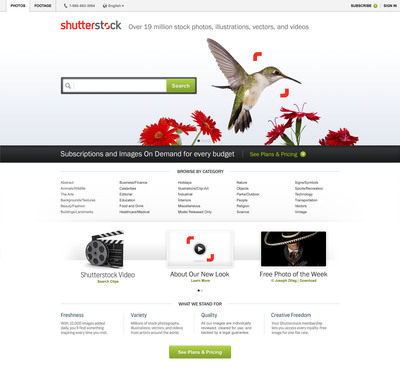 Shutterstock Launches New Brand Identity and Viewfinder Logo