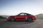 Enhanced power and performance - The new Porsche 911 Carrera GTS models (PRNewsFoto/Porsche Cars North America, Inc.)