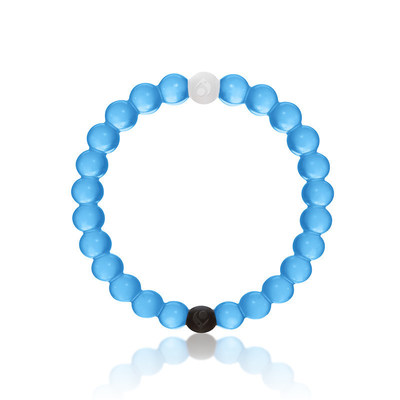Lokai launches limited edition blue bracelet to celebrate for Jewelry that supports a charity
