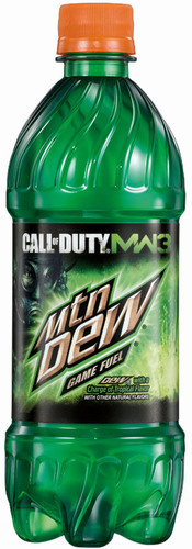 Mountain Dew Game Fuel - DEW with a charge of tropical flavor.  (PRNewsFoto/PepsiCo)