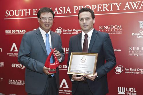 Sansiri won Best Property Developer of Thailand. (PRNewsFoto/Sansiri Public Company Limited) ...