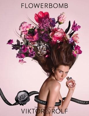 VIKTOR&ROLF UNVEIL THE ENCHANTING NEW FLOWERBOMB VISUAL (PRNewsFoto/Viktor & Rolf Fragrance)