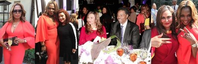 Westco Ventures & NCA Investigations-Table Sponsors of the 4th Annual Gospel Goes To Hollywood Awards! Tina Knowles-Lawson and Nicole C. West are both H-Town Ladies (Houston, TX)