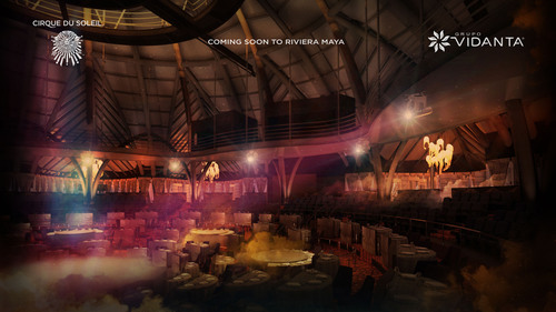 Vidanta Theater is a 600-seat architectural marvel planned and built by Grupo Vidanta to house a unique Cirque ...